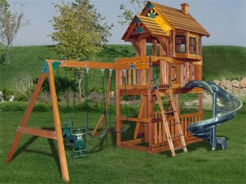Build Your Own Wooden Playset Plans Free